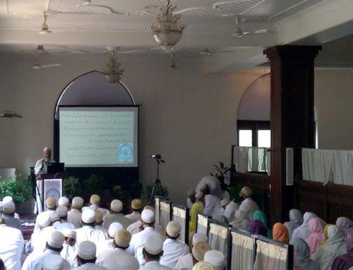 Parent-Teacher meeting at Aljamea Mumbai (Marol)