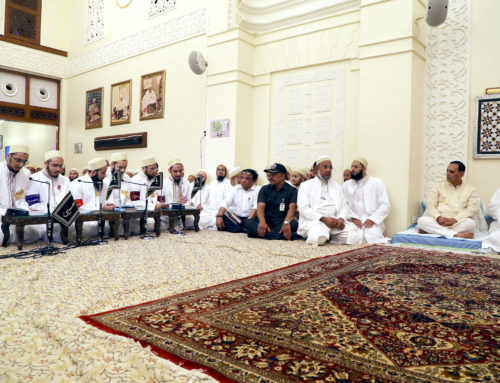 Chief Minister of Gujarat visits Aljamea-tus-Saifiyah