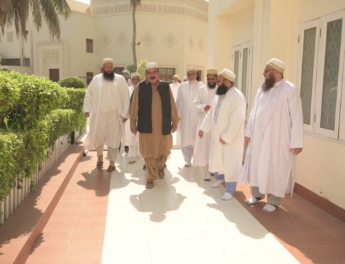 Pakistan's Federal Minister for Railways Visits Aljamea-tus-Saifiyah