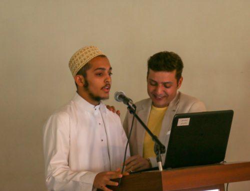 Afroz Shah Visits Aljamea Marol