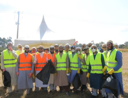 Students from Aljamea Nairobi Participate in Annual KLDA Cleanup Drive
